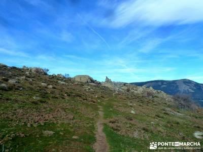 Las Machotas - Senderismo entresemana - Pico de El Fraile y los Tres Ermitaños; rutas de senderismo